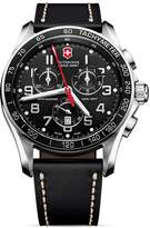 Victorinox Classic Chronograph Watch with Leather Strap, 45mm