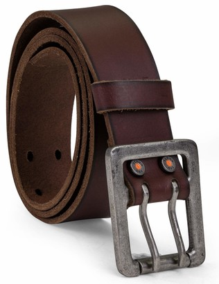 Timberland Men's 42mm Double Prong Leather Belt
