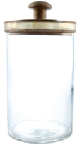 Thirstystone Medium Glass Jar with Wood Lid