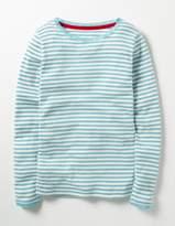 Boden Sparkly Pointelle T-shirt