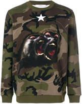 Givenchy Monkey Brothers motif sweatshirt