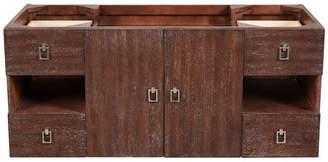 "James Martin Vanities Sonoma 48"" Vanity, Coffee Oak, Without Top"