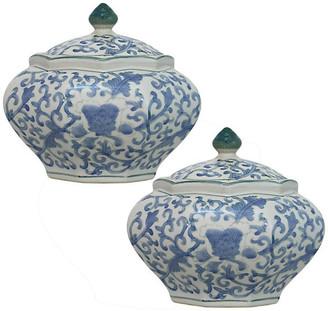 Morgan Elandecor Jars, 2-Piece Set