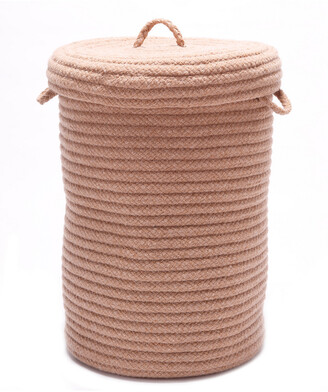 Colonial Mills Wool Blend Evergold Hamper With Lid