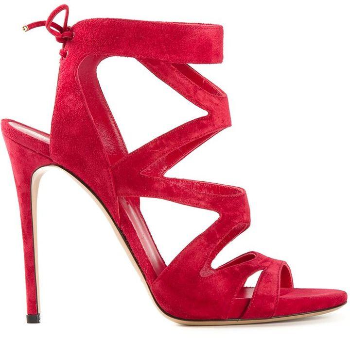 Casadei wrap-around sandals