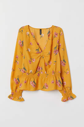 H&M Knot-detail blouse