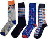 Buffalo David Bitton Men's Color Blocks Crew Socks