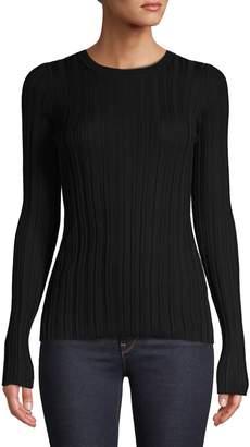 Helmut Lang Merino Wool Ribbed Sweater