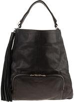 Ombre Tassel Messenger Bag - Black