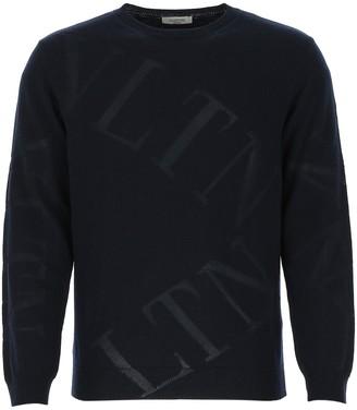 Valentino VLTN Crew Neck Sweater