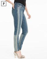 White House Black Market Petite Tuxedo Stripe Skimmer Jeans