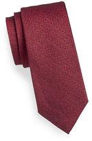 Calvin Klein Floral Dot Silk-Blend Tie