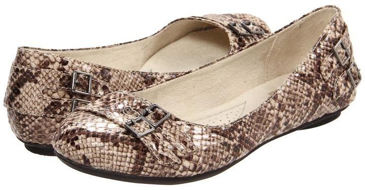 Dr. Scholl's First (Tan Snake) - Footwear