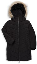 Pajar Little Girl's & Girl's Faux Fur-Trim Puffer Coat