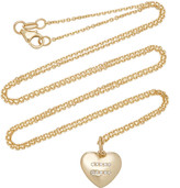 With Love Darling Equality 14K Gold Diamond Necklace