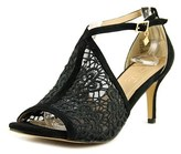 Nanette Lepore Bella Open Toe Suede Sandals.