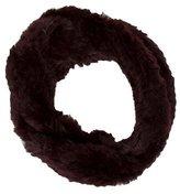 Adrienne Landau Knitted Fur Infinity Scarf w/ Tags