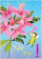Eeboo Sweet Fairy 1 Birthday Card - 6 ct