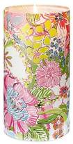 """Lilly Pulitzer for Target Glass Hurricane Candle Holder - Nosey Posie """""""
