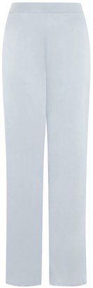 Valle & Vik The Audrey Slim Fit Silver Trousers