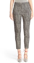 Max Mara Aramis Stripe Stretch Cotton Pants