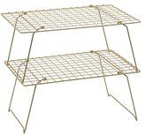 """Kitchen Craft Paul Hollywood by 2-Tier Stackable Wire Cooling Rack, 40 x 26 x 35 cm (16"""" x 10"""" x 14"""")"""