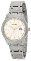 Bulova Men's Quartz Dress Bracelet Watch
