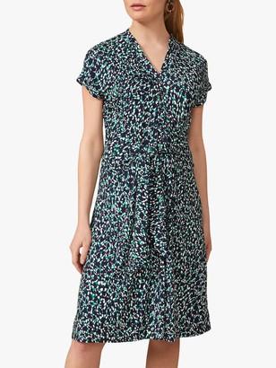 Phase Eight Carolina Abstract Print Knee Length Dress, Multi