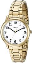 Timex Women's TW2P786009J Main Street Collection Gold-Tone Watch