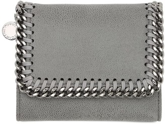 Stella McCartney FALABELLA SHAGGY FAUX LEATHER WALLET