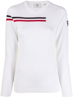 Rossignol Diago striped detail jumper