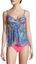 Gottex Abstract Printed Tankini