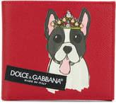 Dolce & Gabbana dog motif wallet