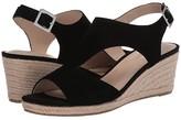 Bandolino Natasha (Black Suede) Women's Shoes