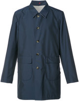 Isaia reversible raincoat