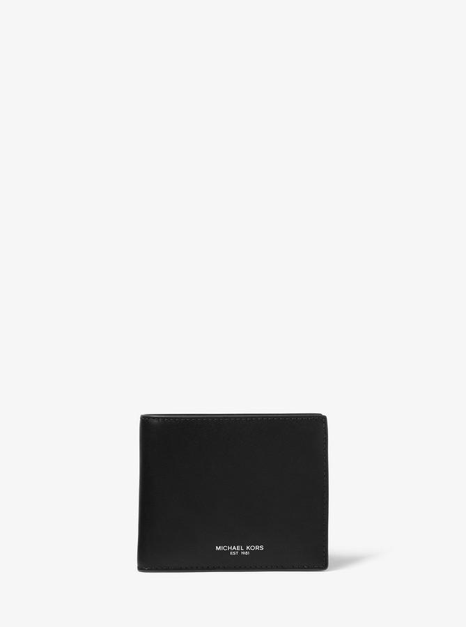 3023447f1185 Michael Kors Black Men's Wallets - ShopStyle