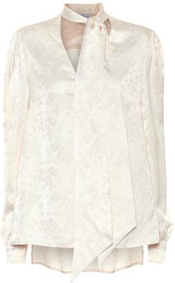 Racil Solange floral satin blouse