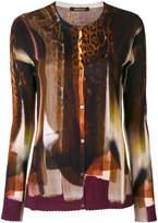 Roberto Cavalli printed cardigan