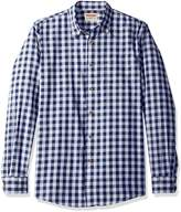 Wrangler Men's Authentics Long Sleeve Premium Gingham Shirt