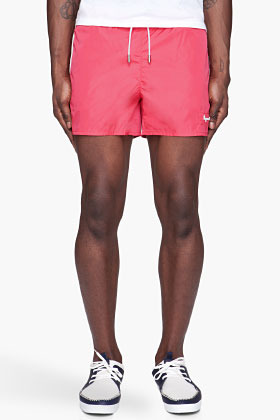 DSquared DSQUARED2 Coral Logo Swim Shorts