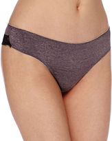 Ambrielle Micro Heather Lace Thong