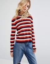 Whistles Multi Stripe Knitted Jumper