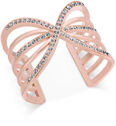 INC International Concepts Pavé Cutout Cuff Bracelet, Only at Macy's