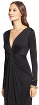 Diane von Furstenberg Ruched V-neck Dress