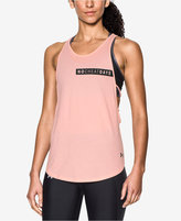 Under Armour No Cheat Days Strappy Tank Top