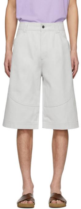 Jacquemus Grey Le Short Terraio Shorts