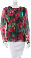 Jason Wu Abstract Print Top