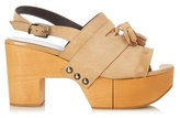 Robert Clergerie Clara wooden-platform sandals