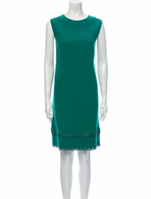 Oscar de la Renta 2017 Knee-Length Dress Wool