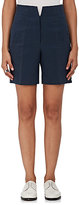 Thom Browne WOMEN'S HOLLYWOOD COTTON-SILK HIGH-RISE SHORTS